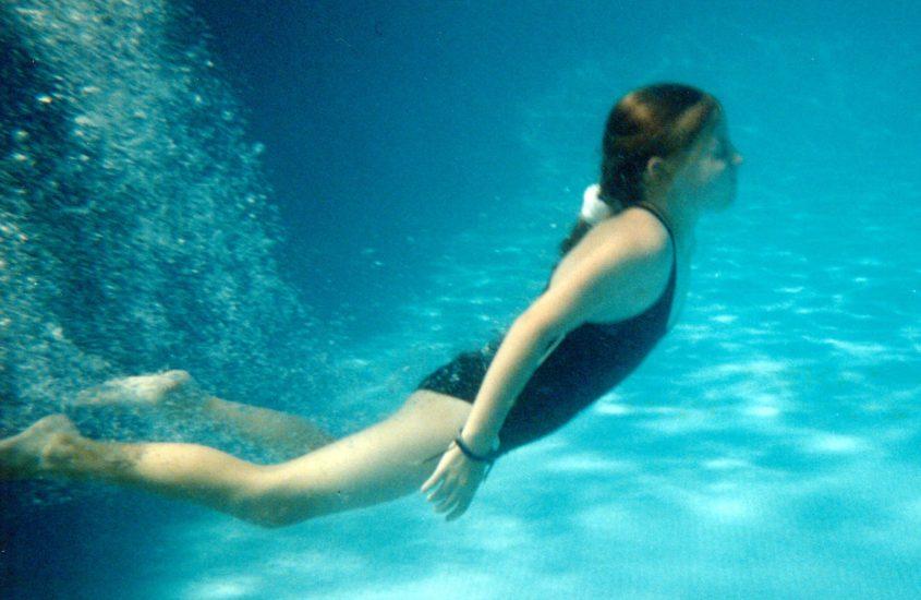 Zwemmen in vroeger tijden